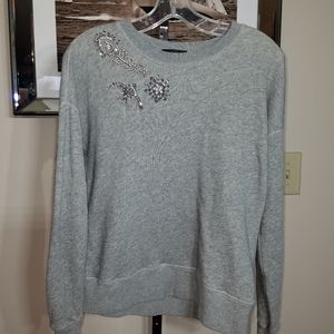 J Crew Comfy Sweat Top Sz S